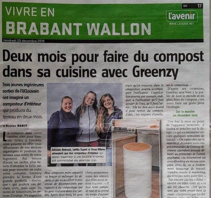 Ils parlent de Greenzy !
