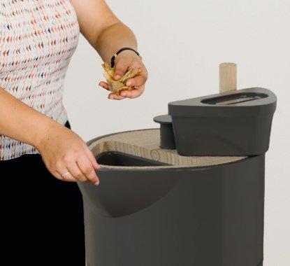 1. Insérer déchets organiques